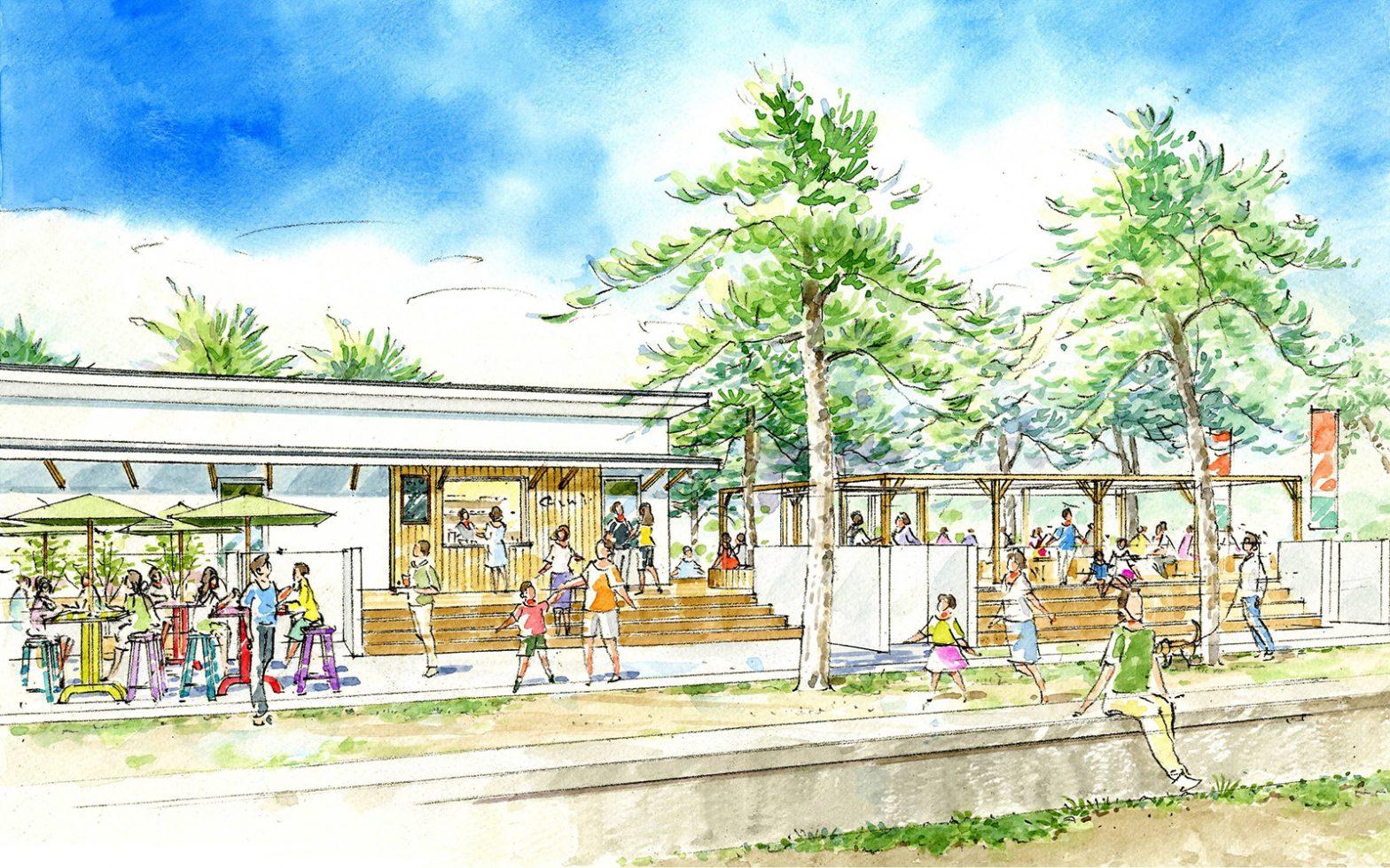 父母ヶ浜ヴィレッジの総合案内所である『父母ヶ浜ポート』がいよいよ明日、7月12日(金)にオープン!